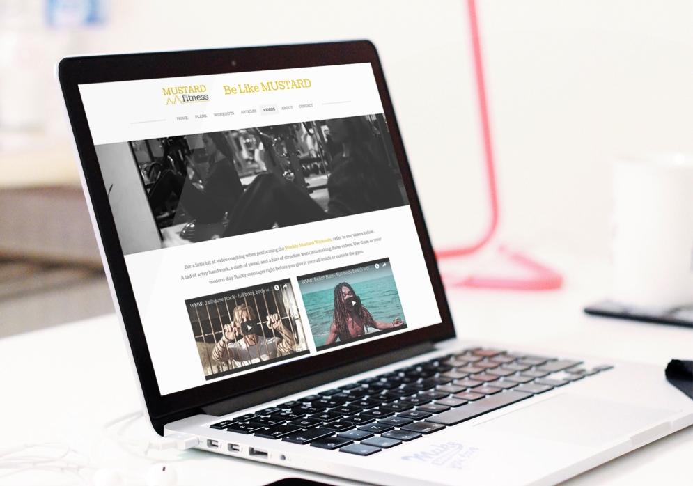 Mustard Fitness Website
