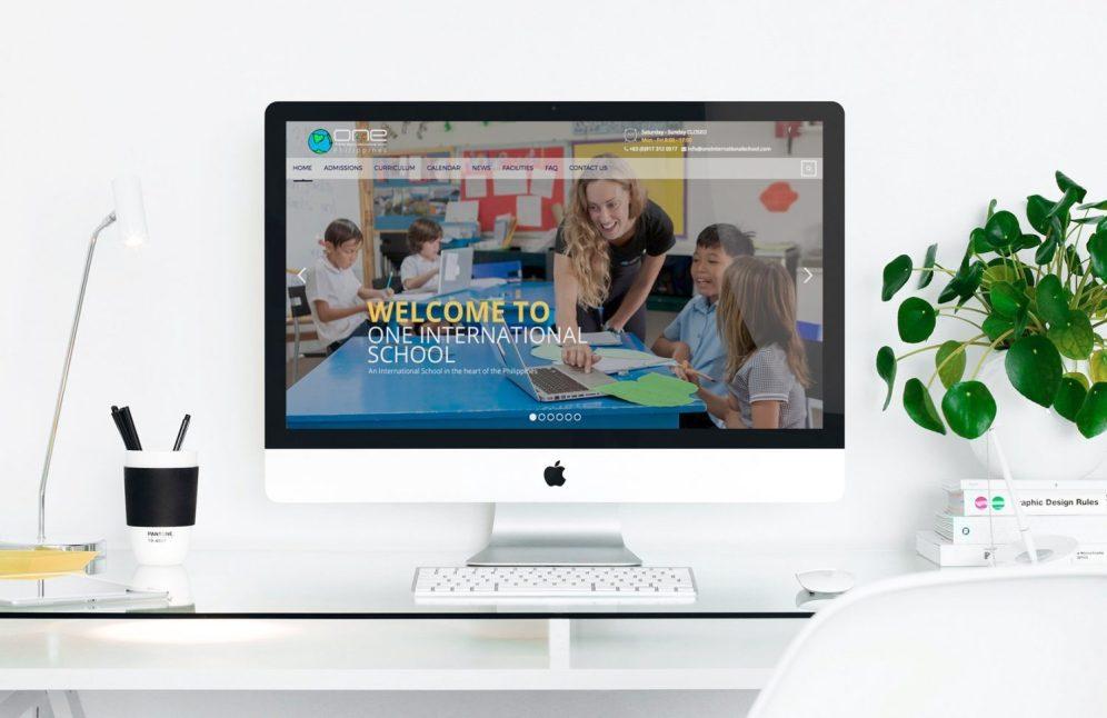 ONE International School Website